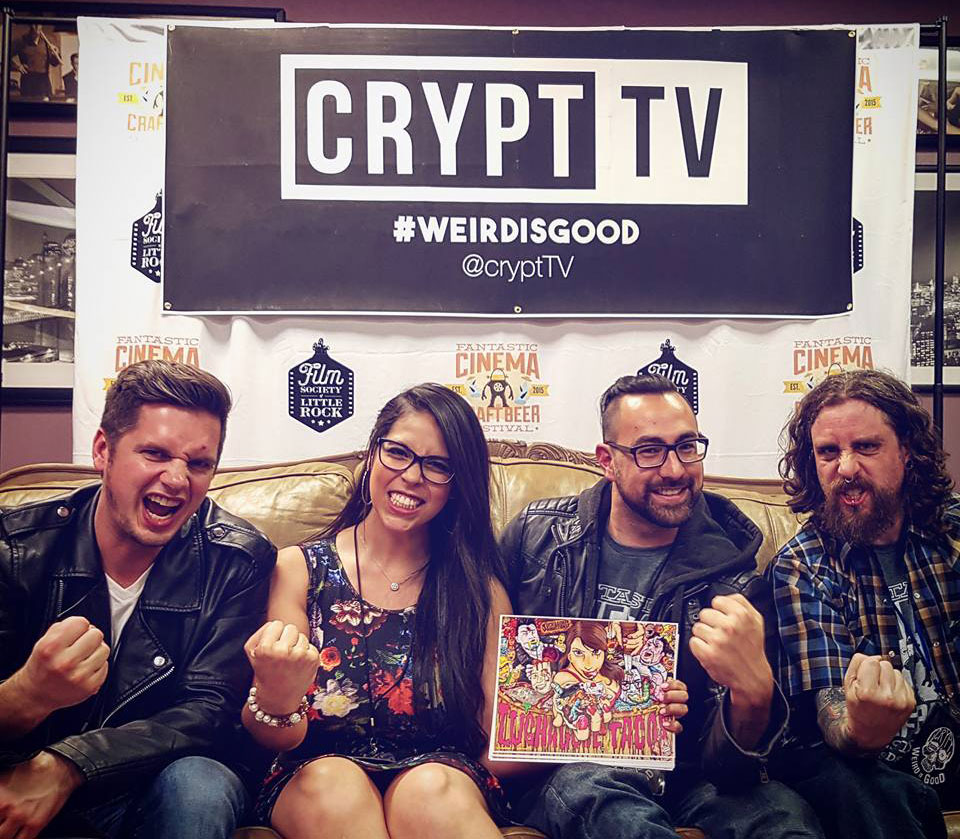 CryptTV loves LUCHAGORE TACOS!